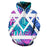 Vibrant Palm Leaves 3D - Sweatshirt, Hoodie, Pullover