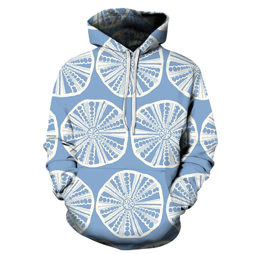 Powder Blue Lemon 3D - Sweatshirt, Hoodie, Pullover