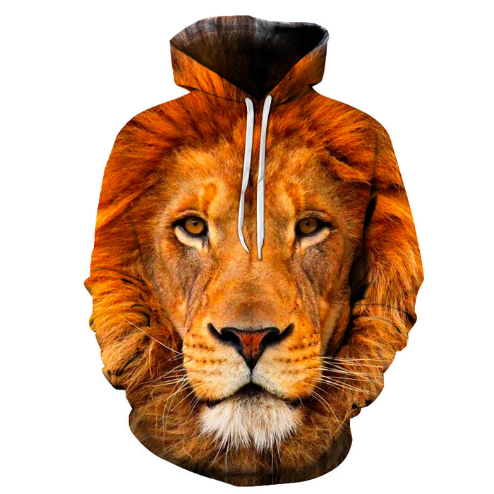 Stare Into A Lions Eyes 3D - Sweatshirt, Hoodie, Pullover
