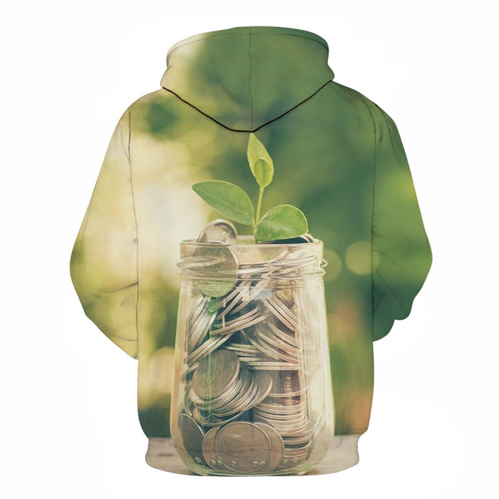 Save Your Coins 3D - Sweatshirt, Hoodie, Pullover