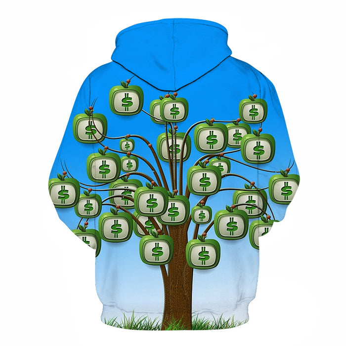 Money Doesn't Grow On Trees 3D - Sweatshirt, Hoodie, Pullover