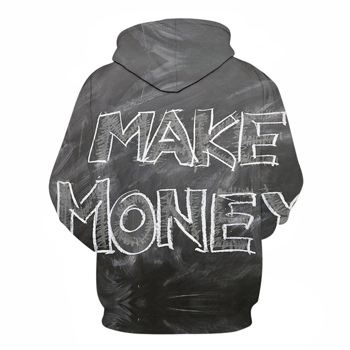 Make Money 3D - Sweatshirt, Hoodie, Pullover