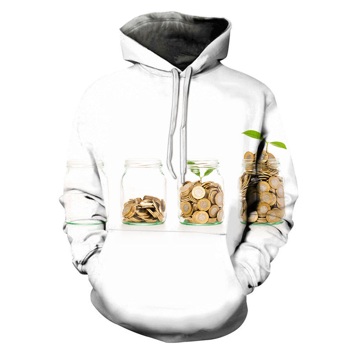 Be Patient And Save Money 3D - Sweatshirt, Hoodie, Pullover