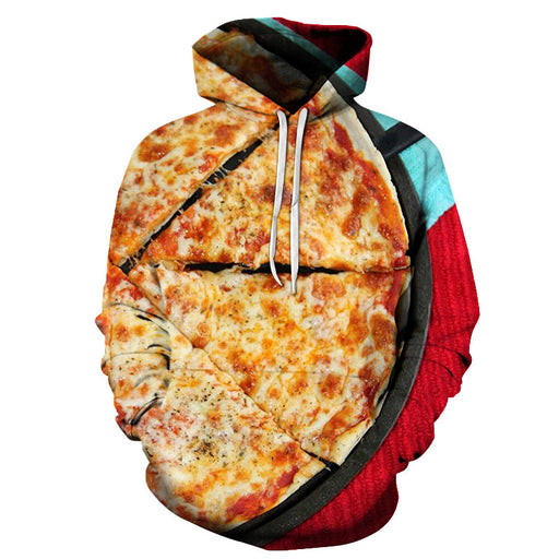Cheesy Pizza 3D - Sweatshirt, Hoodie, Pullover