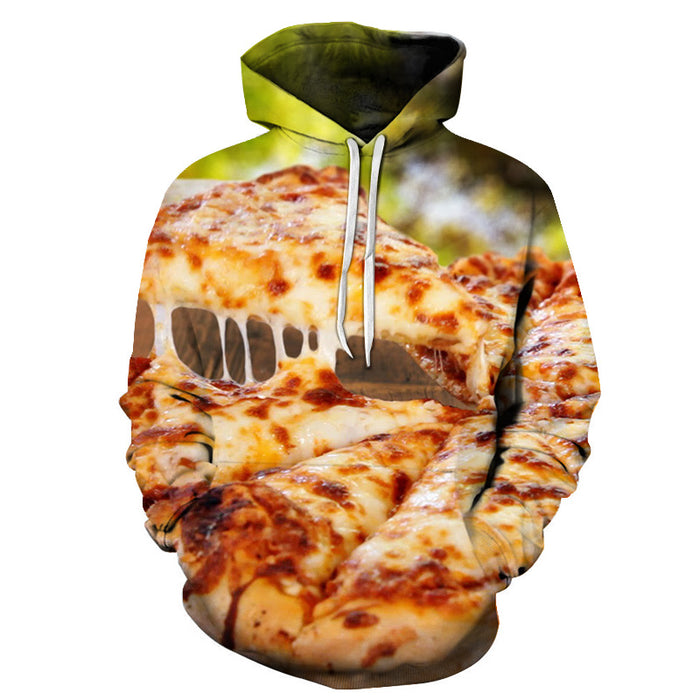 Fresh Cheese Pizza 3D - Sweatshirt, Hoodie, Pullover