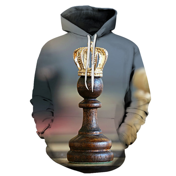 Golden Crown 3D - Sweatshirt, Hoodie, Pullover
