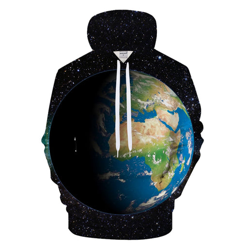 Earth Day 3D - Sweatshirt, Hoodie, Pullover