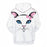 Pretty Cat Face 3D - Sweatshirt, Hoodie, Pullover