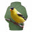 Yellow Sparrow Bird Face 3D - Sweatshirt, Hoodie, Pullover