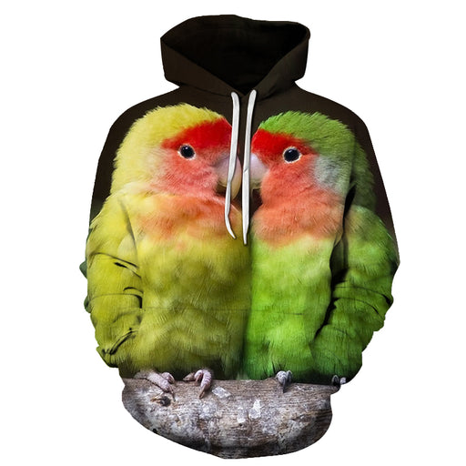 Adorable Chickens Bird Face 3D - Sweatshirt, Hoodie, Pullover