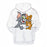 Tom & Jerry Cartoon 3D - Sweatshirt, Hoodie, Pullover