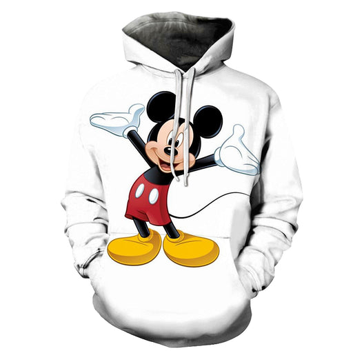 Micky Mouse Cartoon 3D - Sweatshirt, Hoodie, Pullover