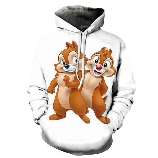 Chipmunk Cartoon 3D - Sweatshirt, Hoodie, Pullover