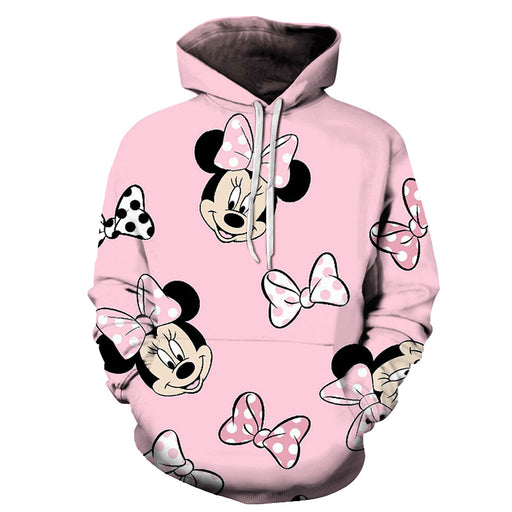 Minnie Mouse Cartoon 3D - Sweatshirt, Hoodie, Pullover