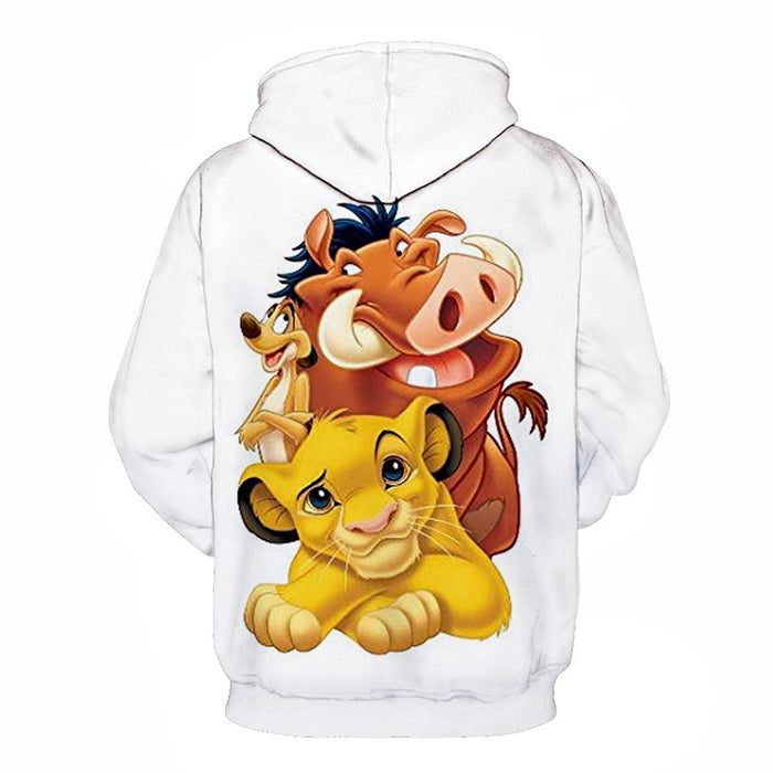 Simba Team Cartoon 3D - Sweatshirt, Hoodie, Pullover