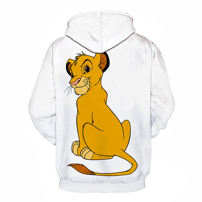 Naughty Simba Cartoon 3D - Sweatshirt, Hoodie, Pullover