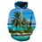 Palm Tree At Hawaii Beach 3D - Sweatshirt, Hoodie, Pullover
