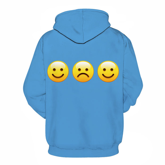 Blue Mental Health Awareness - 3D - Sweatshirt, Hoodie, Pullover