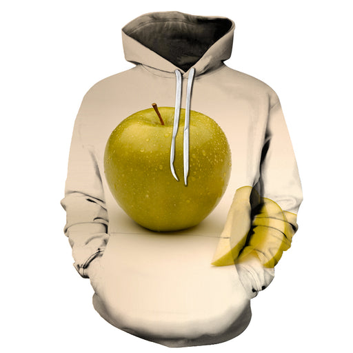 Juicy Green Apple 3D - Sweatshirt, Hoodie, Pullover