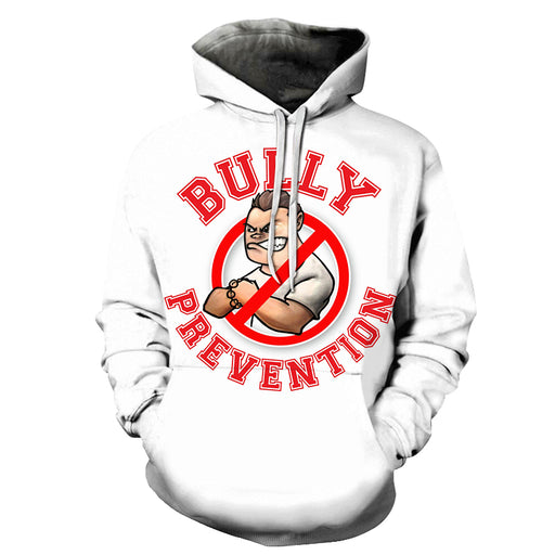 Bully Prevention Awareness 3D - Sweatshirt, Hoodie, Pullover