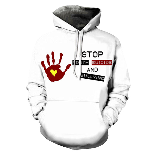 Stop Bullying Awareness 3D - Sweatshirt, Hoodie, Pullover