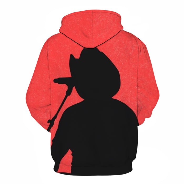 Red Country Music 3D - Sweatshirt, Hoodie, Pullover