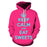 Keep Clam & Eat Dessert 3D Hoodie Sweatshirt Pullover
