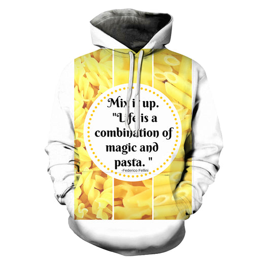 Mix It Up Pasta 3D - Sweatshirt, Hoodie, Pullover