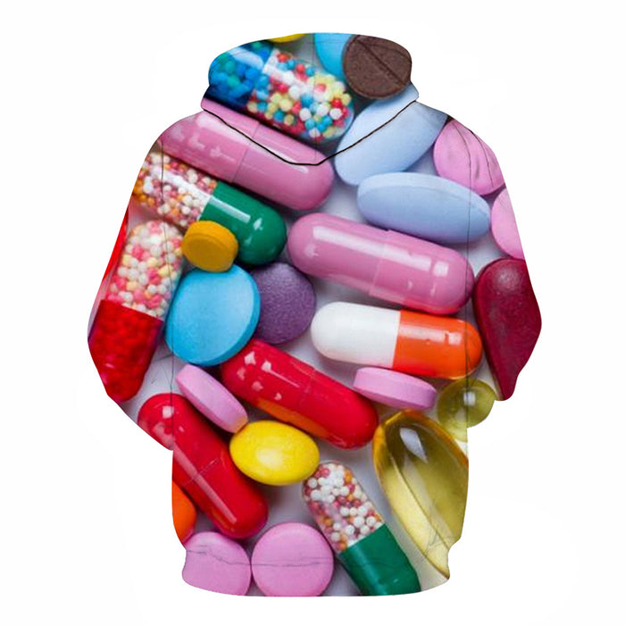 Pharma Medicine Awareness - 3D - Sweatshirt, Hoodie, Pullover