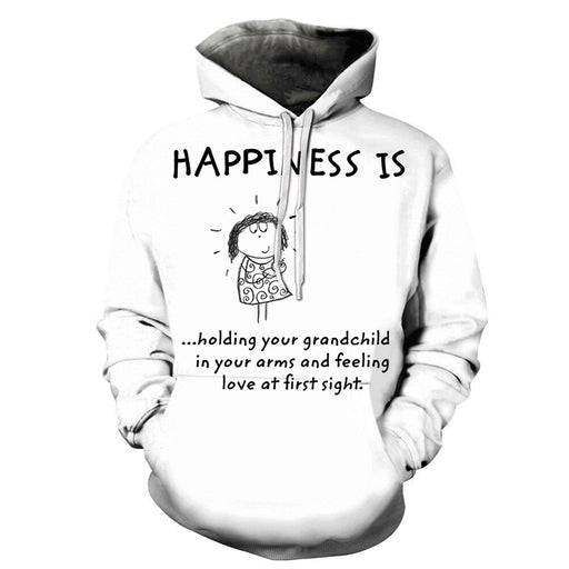 Happiness is Grandma 3D - Sweatshirt, Hoodie, Pullover