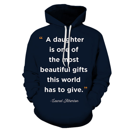 Navy Blue Mother Love 3D - Sweatshirt, Hoodie, Pullover