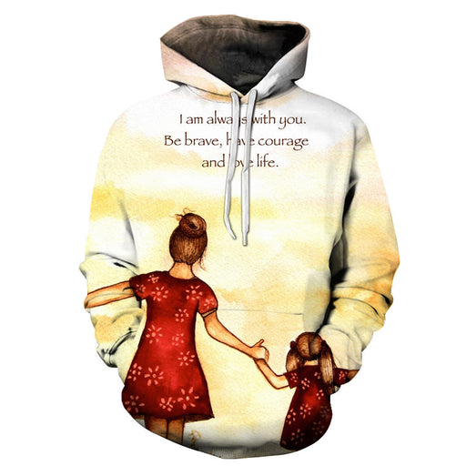 Always With You Mother Love 3D - Sweatshirt, Hoodie, Pullover