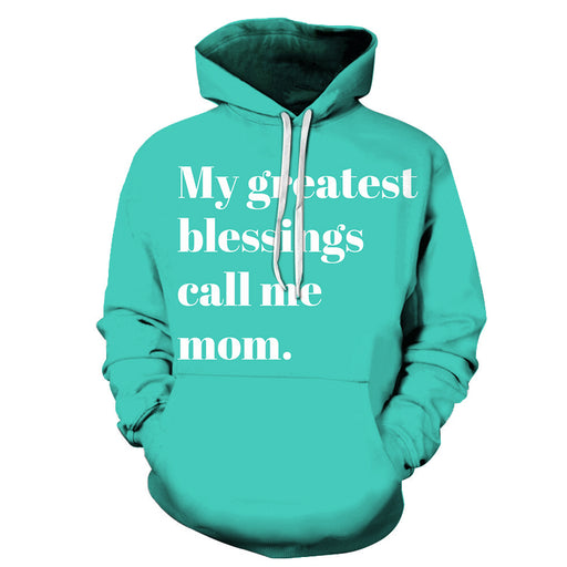 My Greatest Blessing Mother Love 3D - Sweatshirt, Hoodie, Pullover