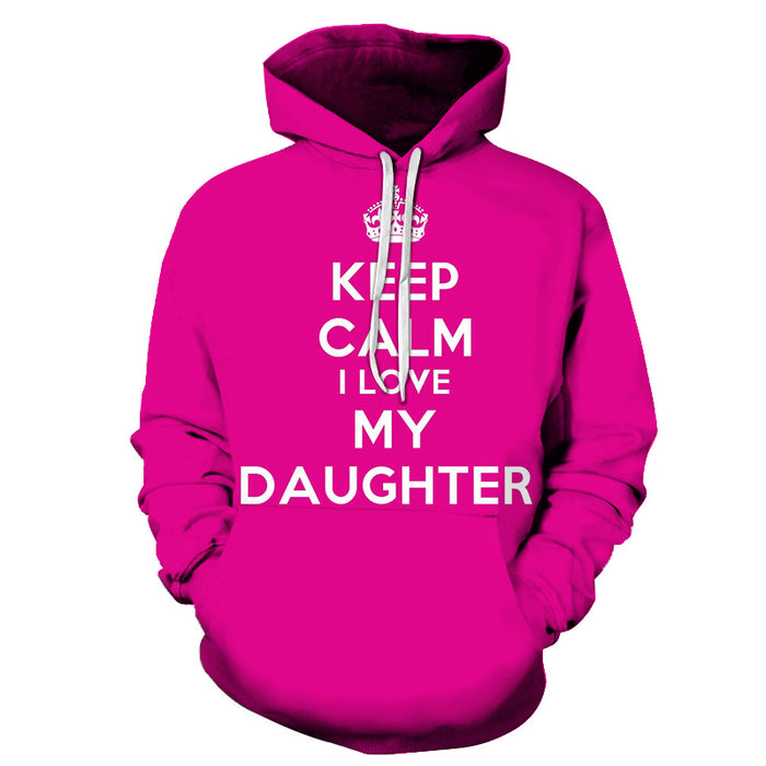 Keep Calm Mother Love 3D - Sweatshirt, Hoodie, Pullover