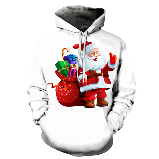 Santa With Gifts Christmas 3D - Sweatshirt, Hoodie, Pullover