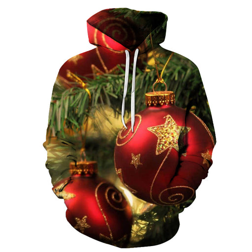 Christmas Tree Ornament Hoodie - Sweatshirt, Hoodie, Pullover