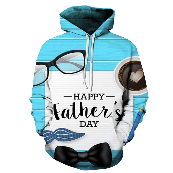 Happy Father's Day 3D - Sweatshirt, Hoodie, Pullover