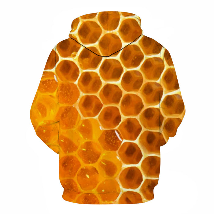 3D ''September'' HoneyComb - Hoodie, Sweatshirt, Pullover
