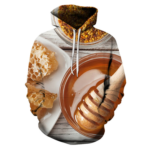 3D Sweet Honey - Hoodie, Sweatshirt, Pullover