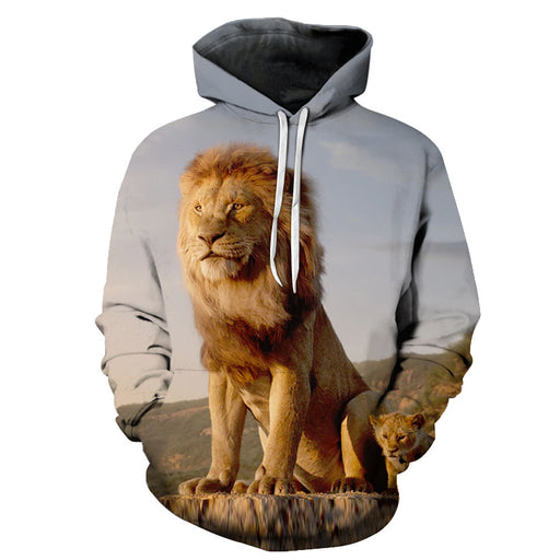 3D Simba, The Lion King - Hoodie, Sweatshirt, Pullover
