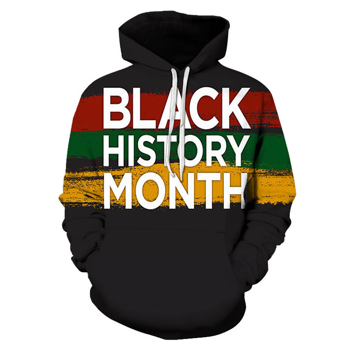 Black Color Black History Month 3D - Sweatshirt, Hoodie, Pullover