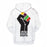 Powerful Hand Black History Month 3D - Sweatshirt, Hoodie, Pullover