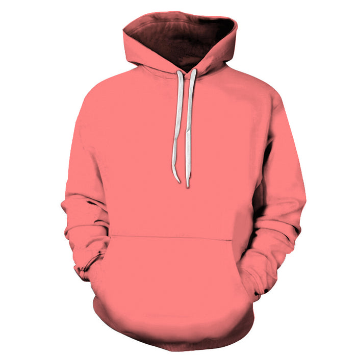 Coral Shade Of Red 3D - Sweatshirt, Hoodie, Pullover
