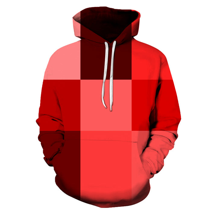 Mix Shade Of Red 3D - Sweatshirt, Hoodie, Pullover