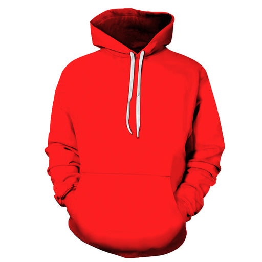 Scarlet Shade Of Red 3D - Sweatshirt, Hoodie, Pullover