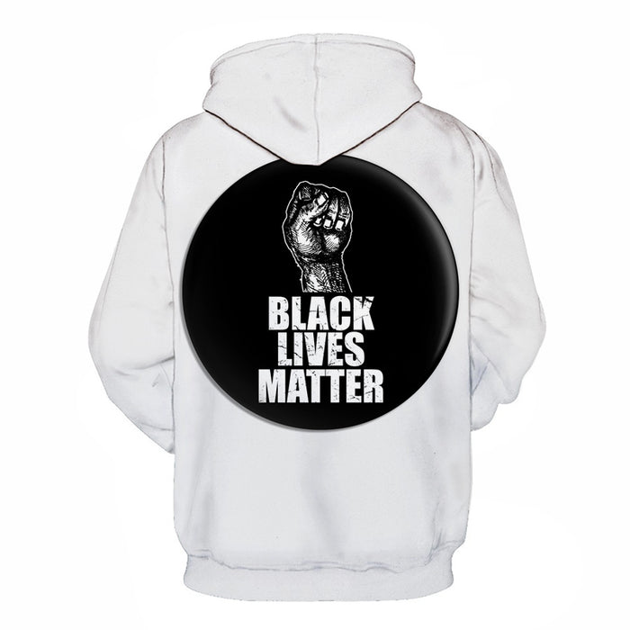 Stay United Black Lives Matter 3D - Sweatshirt, Hoodie, Pullover