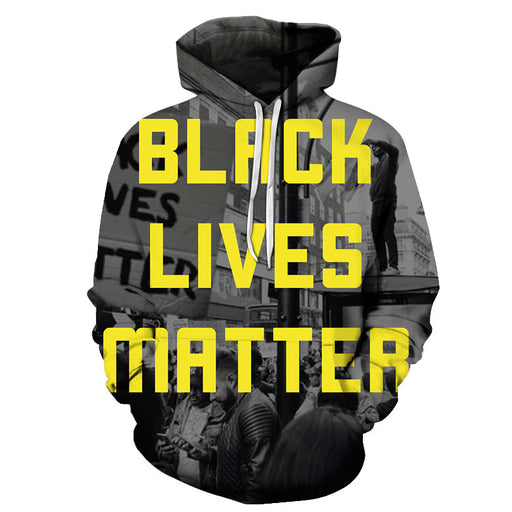 Stand Together Black Lives Matter 3D - Sweatshirt, Hoodie, Pullover