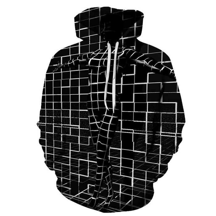 Cubic Illusion Room 3D - Sweatshirt, Hoodie, Pullover