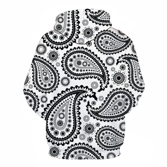 Black & White Tribal Art  3D - Sweatshirt, Hoodie, Pullover