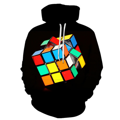 Autism Rubic Cube 3D - Sweatshirt, Hoodie, Pullover -Support Autism Awareness Movement